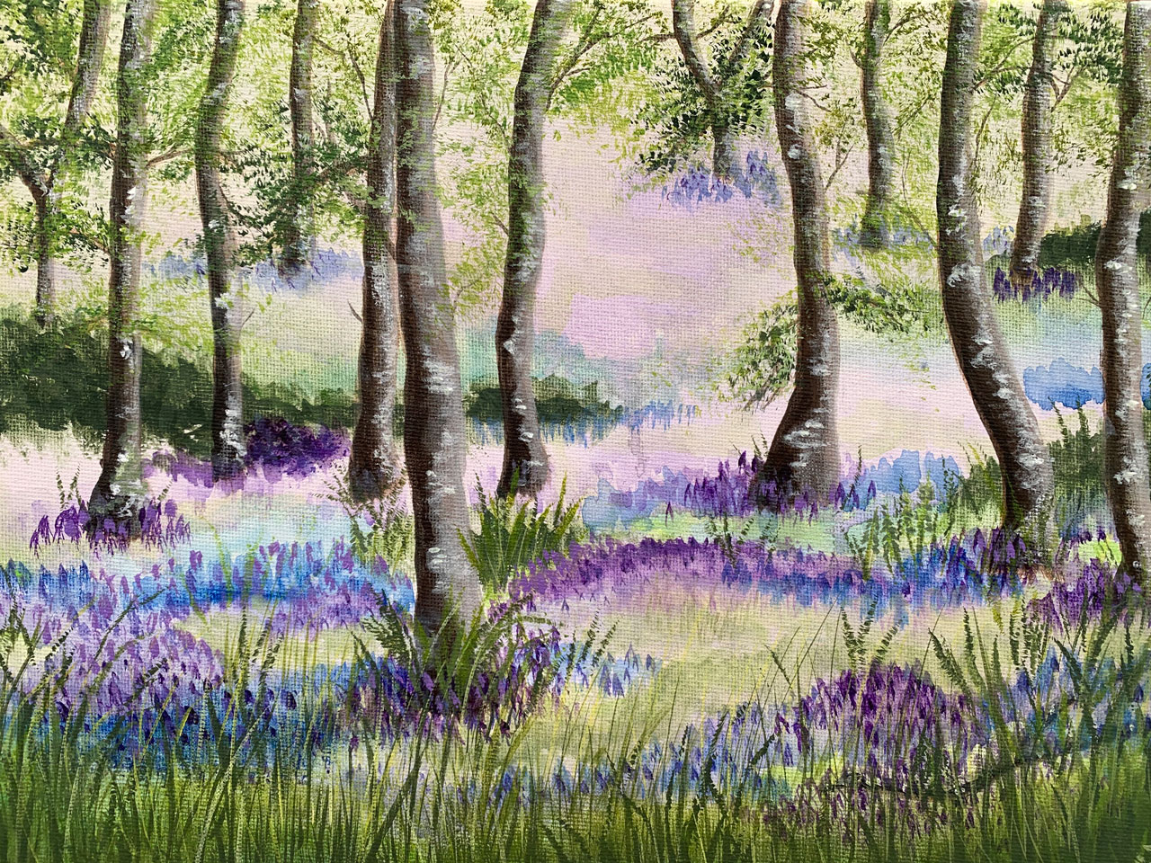 In Bluebell Woods